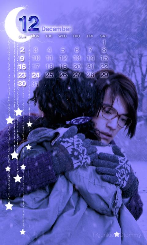 金城武カレンダー12月t